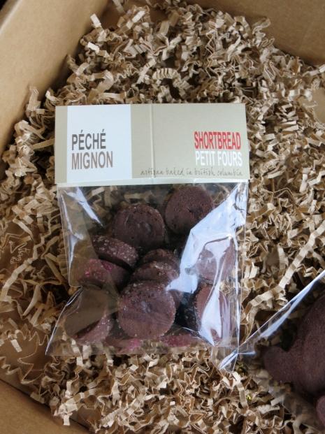 Rich Chocolate Shortbread Petit Fours